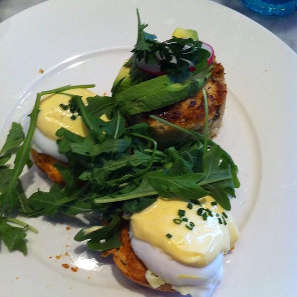 Bennysadict; Crab, Avocado, Lemon @ Searsucker Restaurant & Bar
