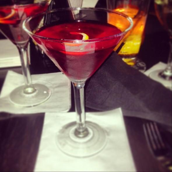 Pomegranate Martini - Room 38, Columbia, MO