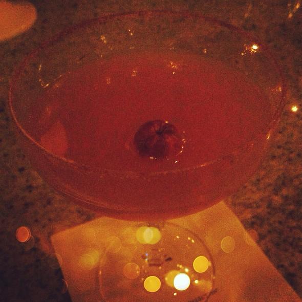 Smashing Pumpkin Martini @ Grant Grill