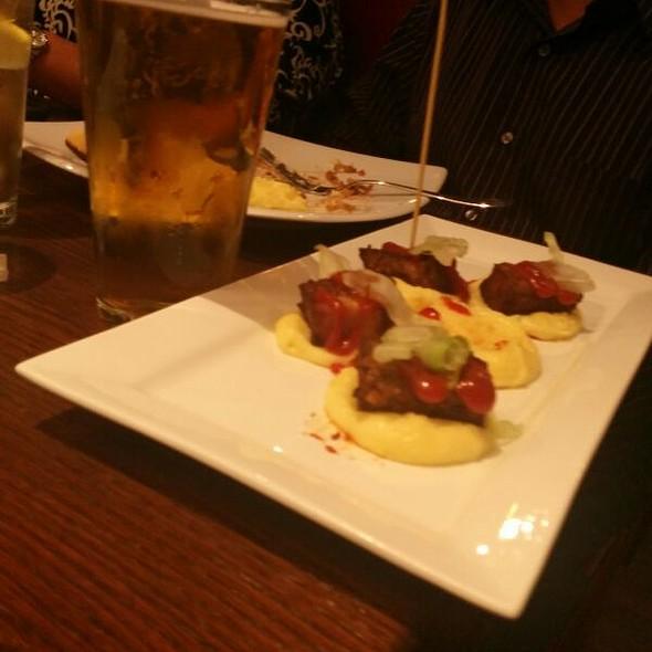 Meatloaf Bites @ The League Kitchen & Tavern
