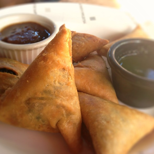 Sambusas @ Flavors of East Africa