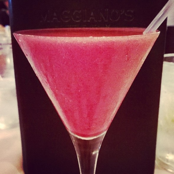 Frozen Rasperry Bellini @ Maggiano's Little Italy