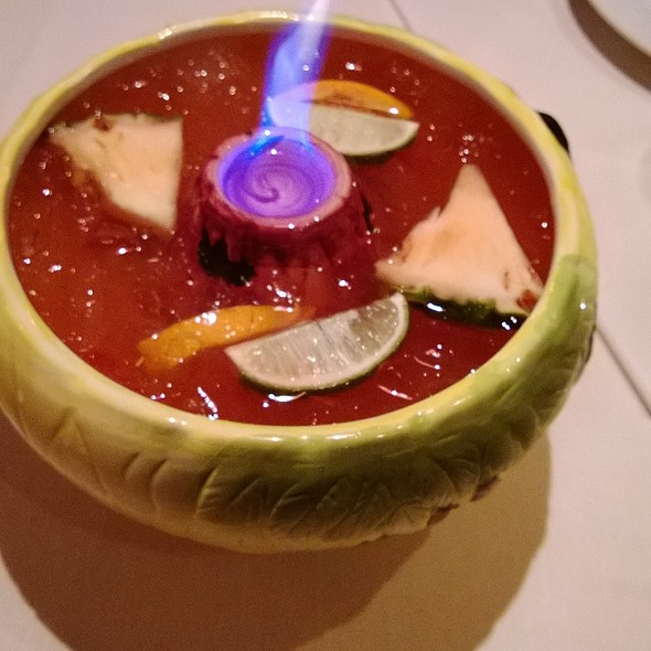 Scorpion Fire Bowl @ Typhoon Asian Bistro