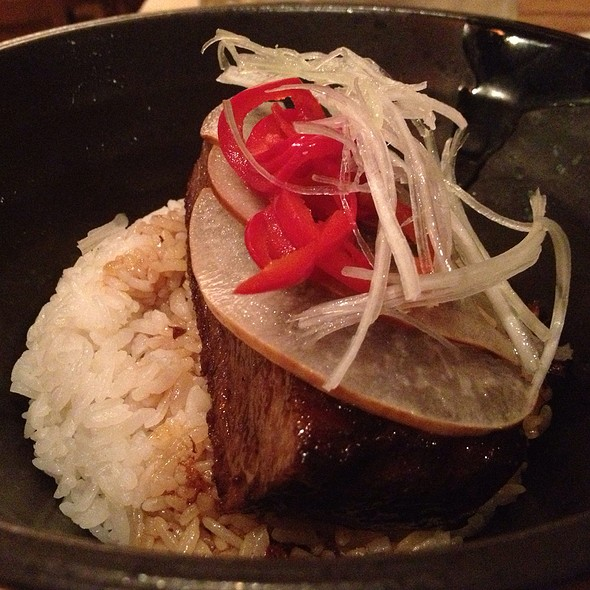 Braised Short Rib Donburi - Arami, Chicago, IL