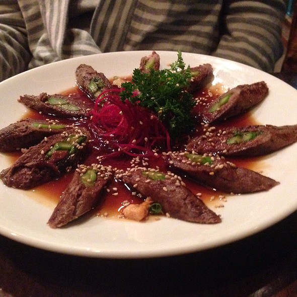 Asparagus Wrapped With Beef - Kansaku, Evanston, IL