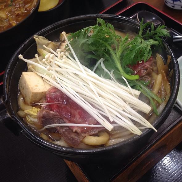 Sukiyaki Udon @ Kobe Genpei
