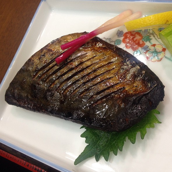 Grilled Saba (Makerel) @ Kobe Genpei