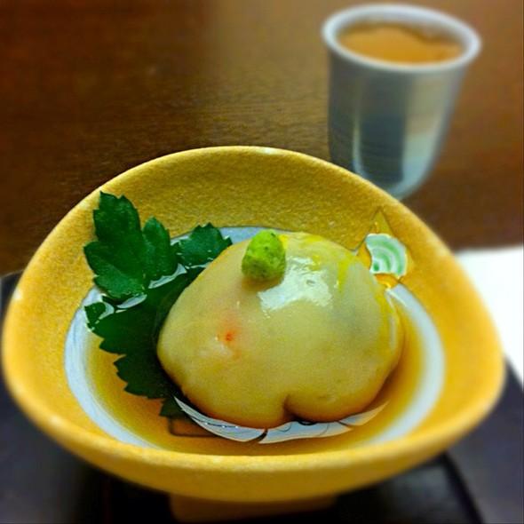 茶巾豆腐 @ 温泉旅館 絆