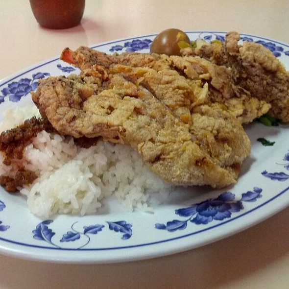 Pork Chop Rice @ Old Country Cafe