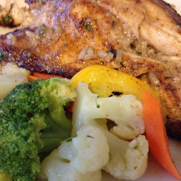 Louisiana Redfish @ Oak Alley Plantation, Restaurant & Inn
