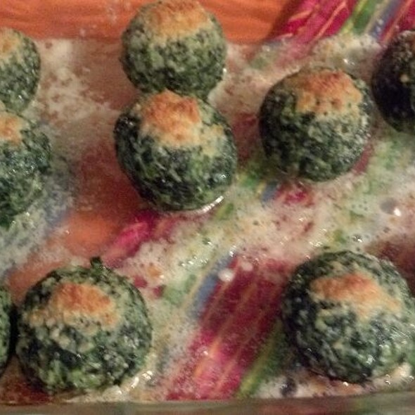 Spinach Balls @ Home