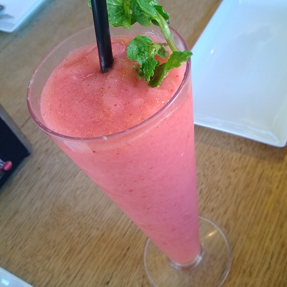 Lychee & Strawberry Mocktail