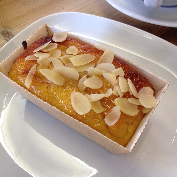 Orange And Almond Slice @ Urban Coffee Company