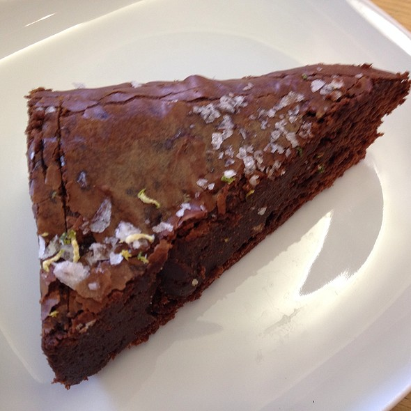Dark Chocolate Sea Salted Brownie @ Urban Coffee Company
