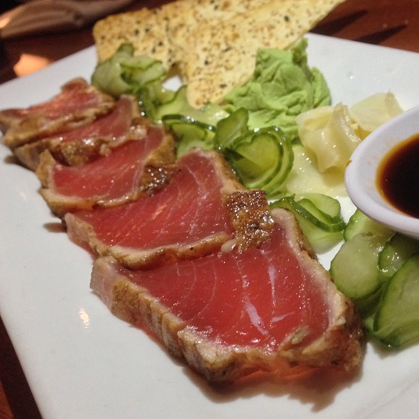 Seared Ahi Tuna - Seasons 52 - Tysons Corner, McLean, VA