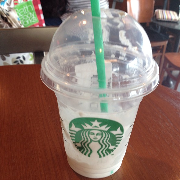 Vanilla Bean Frappe @ Starbucks