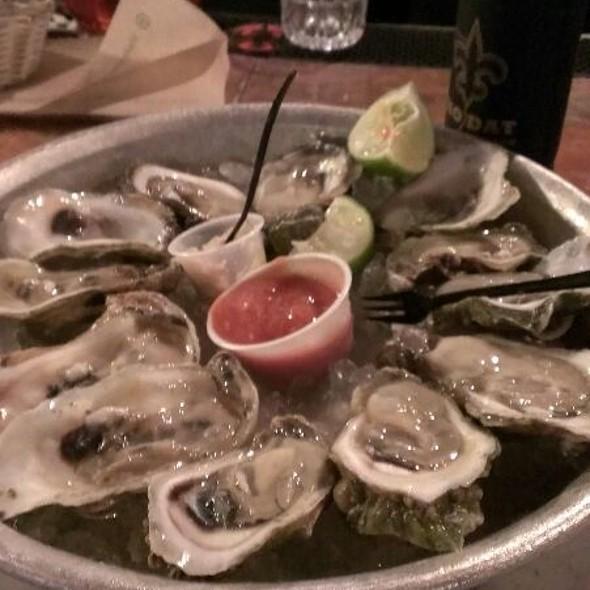 Gulf Oysters @ Half Shell Raw Bar