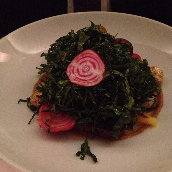 Autumn Kale And Beet Salad