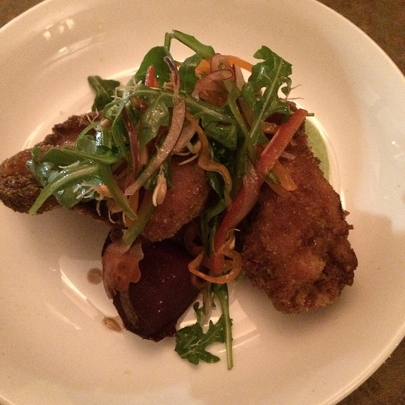 fried chicken - The Palace, San Francisco, CA