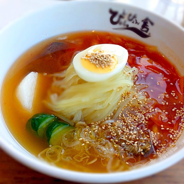 冷麺 @ ぴょんぴょん舎 GINZA UNA