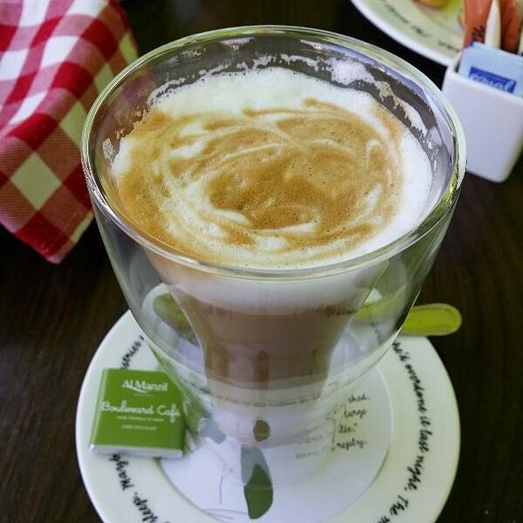 Cafe Latte @ Boulevard Cafe, Al Manzil Hotel