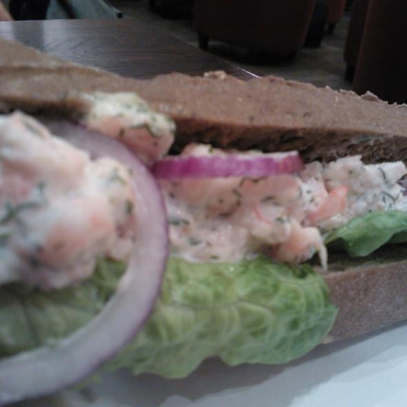 Seafood ciabatta @ Caffè Ritazza, Arlanda Airport