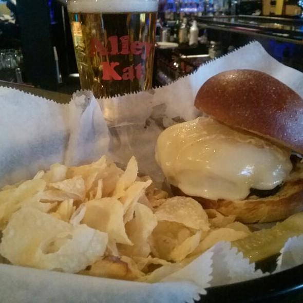 Muffaletta Burger at Alley Kat