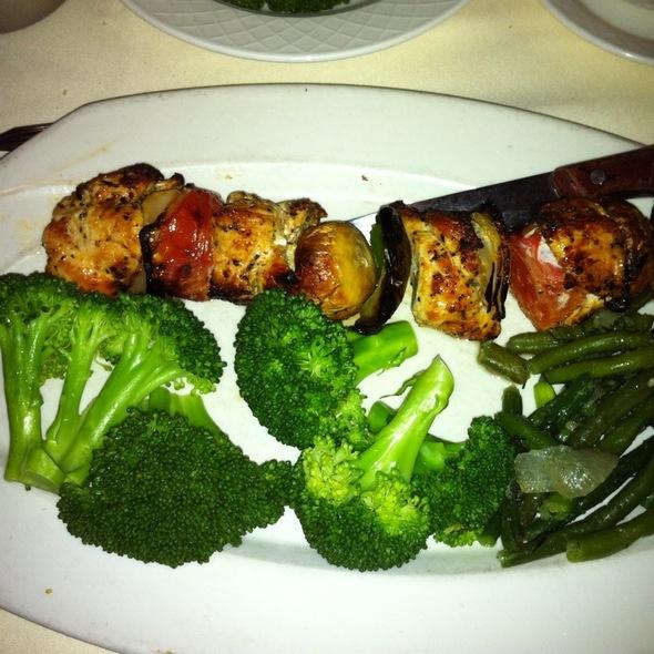 Chicken Kabobs - Aegean Restaurant, Framingham, MA