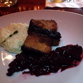 Pan Crisped Pork Belly - Fleming's Steakhouse - Knoxville, Knoxville, TN