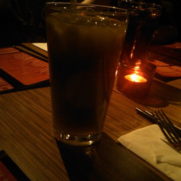 Iced Lychee Green Tea @ Box