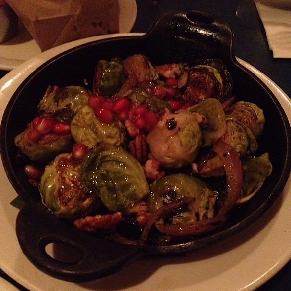 Brussel Sprouts With Pomegranate Juice @ Bogota Latin Bistro