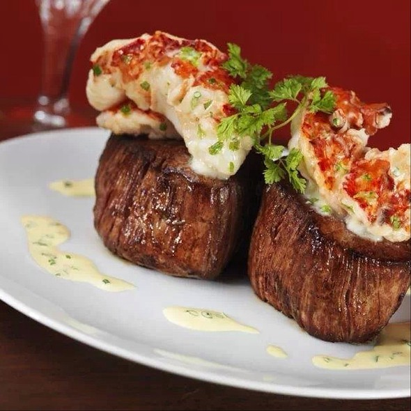 Filet Migon Topped With Lobster Tail - The Capital Grille - Minneapolis, Minneapolis, MN