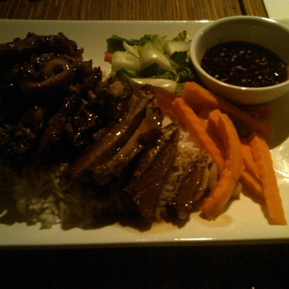 Honey Roast Duck Over Rice @ Box