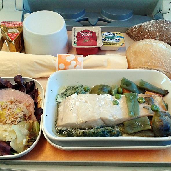 Worst meal ever @ Madrid - Oviedo train