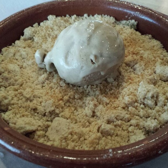 Granny Smith Apple Crumble @ 2nd's Comfort Food Revisited