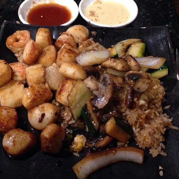 Scallop Hibachi - Koto Japanese Steakhouse - VT, South Burlington, VT