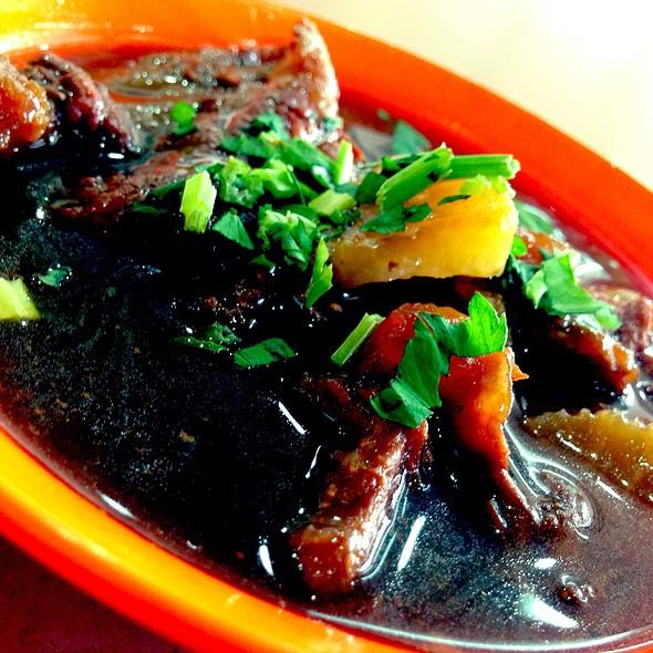 Beef Brisket Stew @ Restoran Tong Fong