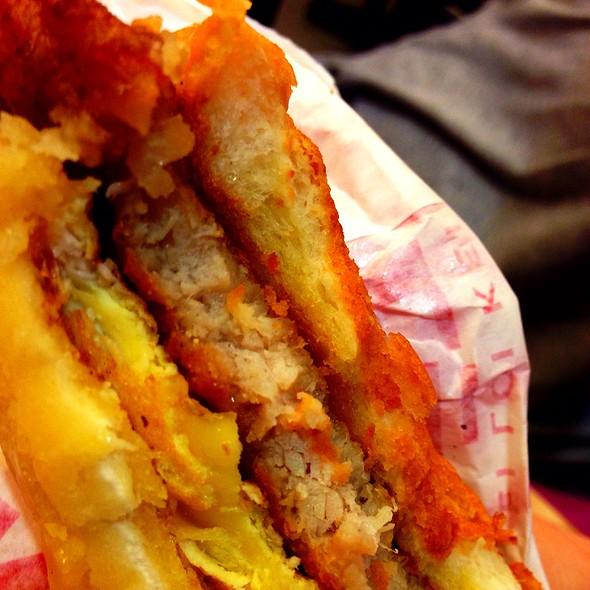 Pork Chop Bun @ Tai Lei Loi Kei Macau