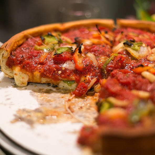 Chicken Sausage Special @ Zachary's Chicago Pizza