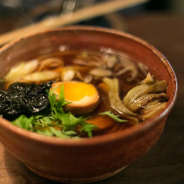 Shoyu Meyer Lemon Ramen @ Ramen Shop