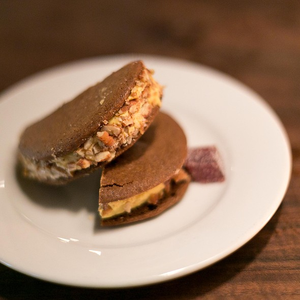 Pumpkin Ice Cream Sandwich @ Ramen Shop