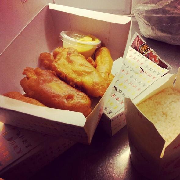 Friterad kycklingfilé