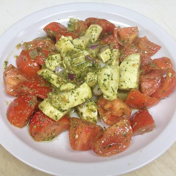 Italian Tomato Salad @ DeLorenzo's Pizza