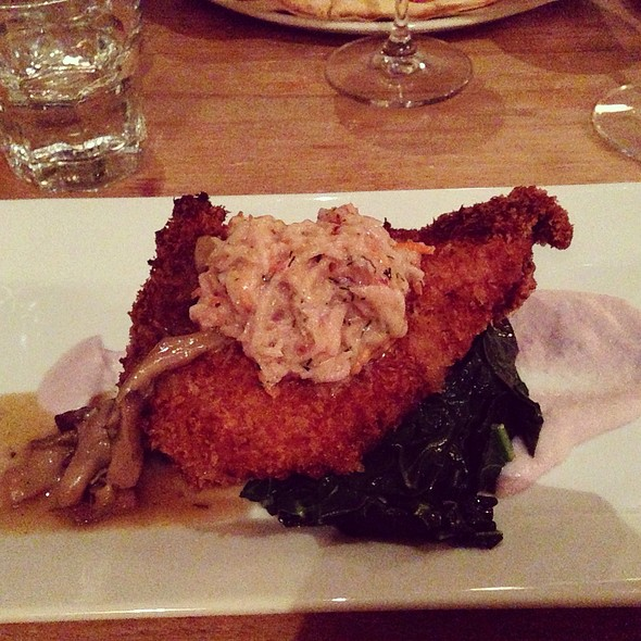 buttermilk fried chicken @ La Bicyclette