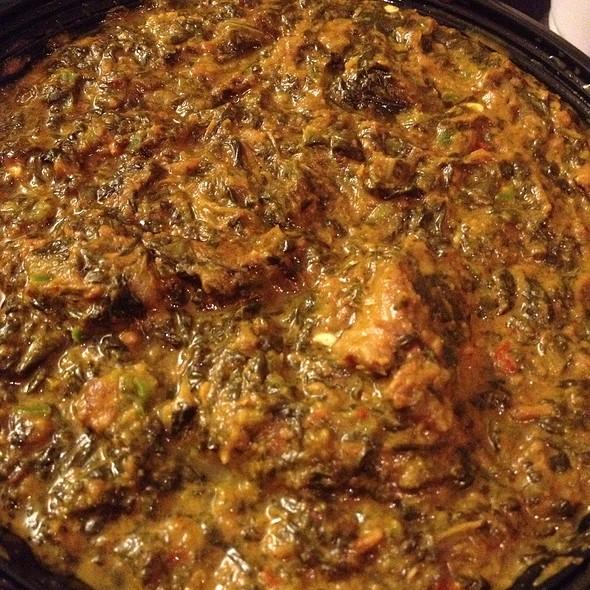 Saag Gosht - Raj Darbar Indian Restaurant, Chicago, IL