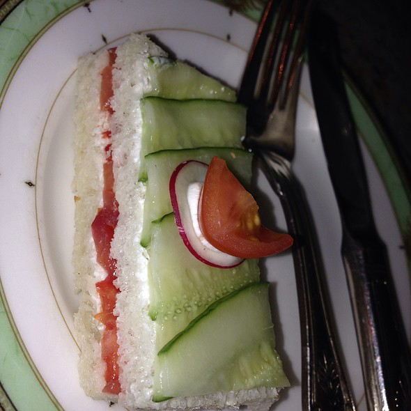 Cucumber Sandwiches - The Palm Court, Chicago, IL