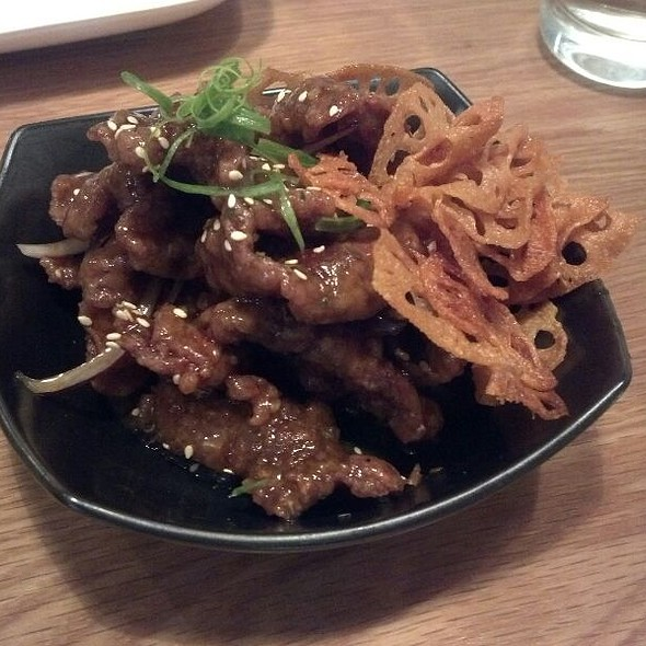 Spicy Crispy Beef @ Red Farm