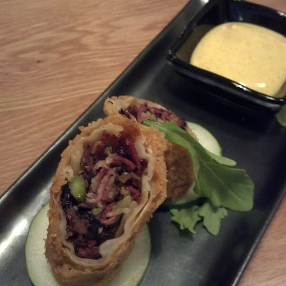 Katz's Pastrami Egg Roll @ Red Farm