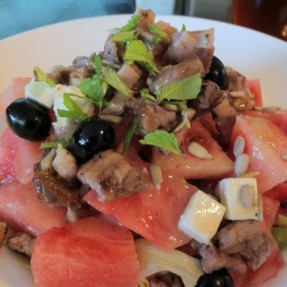 Watermelon and Lamb Salad @ Cyma