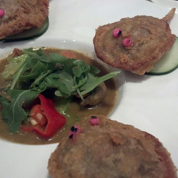 Crispy Duck And Crab Dumplings @ Red Farm